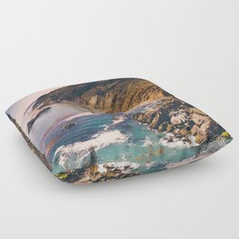 Big Sur Pacific Coast Highway Floor Pillow