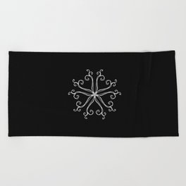 Five Pointed Star Series #10 Beach Towel