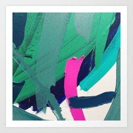 Tropical 2.0 Art Print