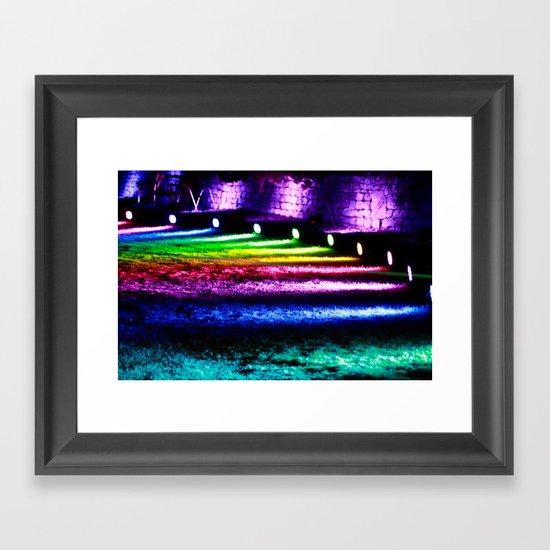 True colours Framed Art Print