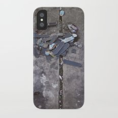 Skates Cementery iPhone X Slim Case