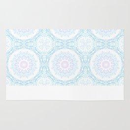 winter sun Mandala Rug
