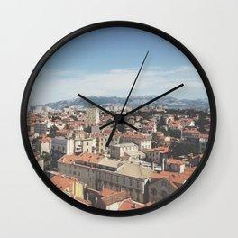 Dubrovnic, Croatia Wall Clock
