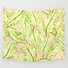 Pastel Jungle Wall Tapestry