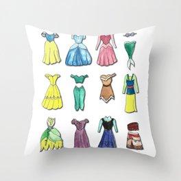 fashion princess Throw Pillow