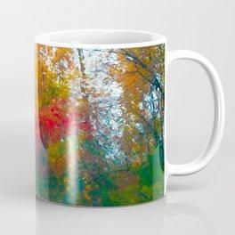 """A Rainy Drive Through Fall"" Coffee Mug"