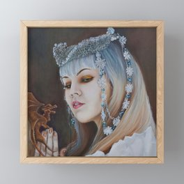Dragon Tamer Framed Mini Art Print