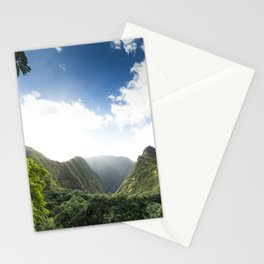Iao Valley Mist // Horizontal Stationery Cards