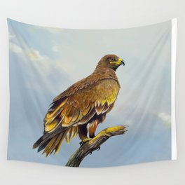 Steppe Eagle Wall Tapestry