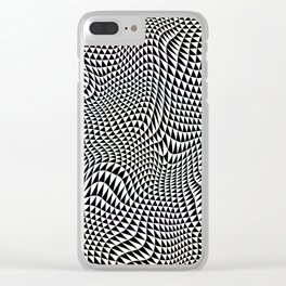 TESSELATION ABYSS Clear iPhone Case