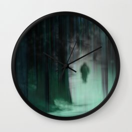 Through the woods and back again Wall Clock