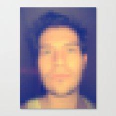 Censored Self Portrait Canvas Print