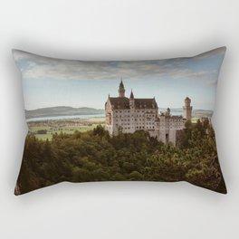 Neuschwanstein Castle in Germany Rectangular Pillow