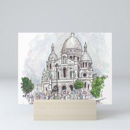 Sacre Coeur Paris Mini Art Print