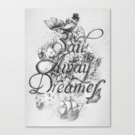 Sail Away Dreamer Canvas Print