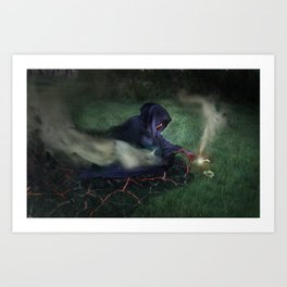 The Epitome of Man Art Print