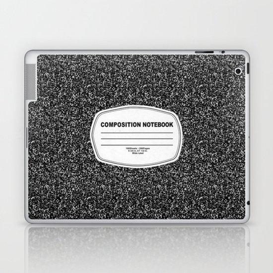 Composition Notebook Laptop & iPad Skin