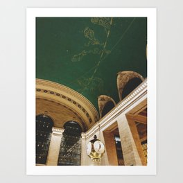 The time at Grand Central Art Print