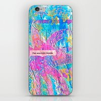 For Whatever Reason iPhone & iPod Skin