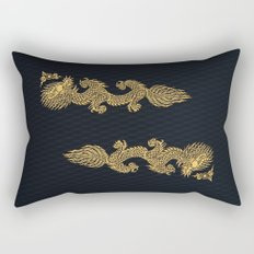 Gold Dragon Ball Z Shen long Art iPhone 4 4s 5 5c, ipod, ipad, tshirt, mugs and pillow case Rectangular Pillow