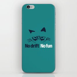 No drift No fun v2 HQvector iPhone Skin