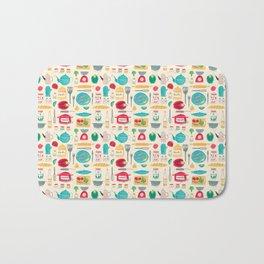Kitchen Pattern Bath Mat