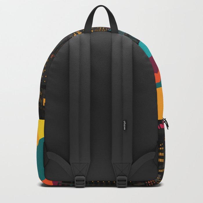 Fragmented III VI Backpack
