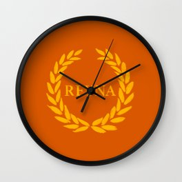 Reyna Ramirez Arellano Wall Clock