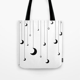 Kennah's Dream in Black and White Tote Bag