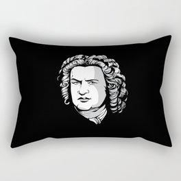 Bach Portrait Rectangular Pillow