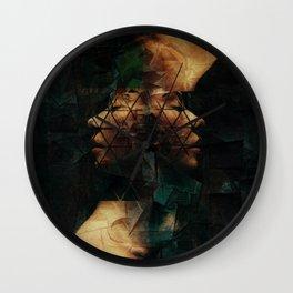Modern Cubist Wall Clock