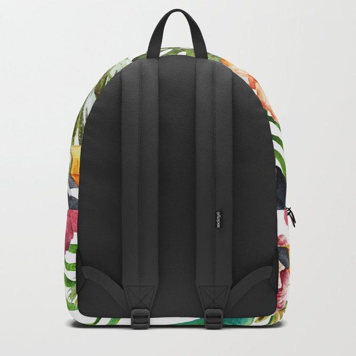 Tropical Bird Pattern 06 Backpack