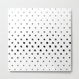 Dottie - White Metal Print