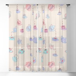 Tea Time Sheer Curtain