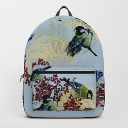 Little Blue Birds Backpack