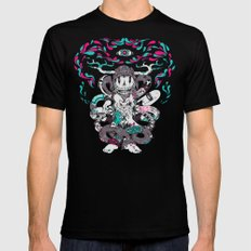 Chaos Theory Black Mens Fitted Tee LARGE