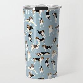 Tree Walker Coonhounds Pattern Travel Mug