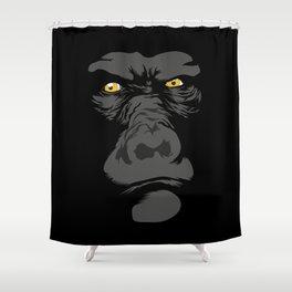 Gorila Eyes Shower Curtain