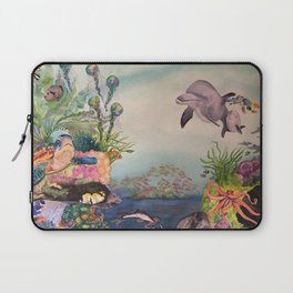 Journey Under the Sea by Maureen Donovan Laptop Sleeve