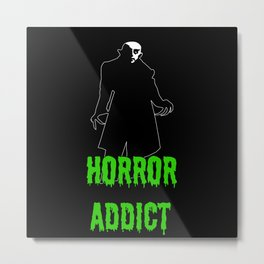 Horror Addict Metal Print