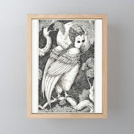 Harpy 3 Framed Mini Art Print