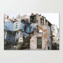 Beautiful Rubble! Canvas Print