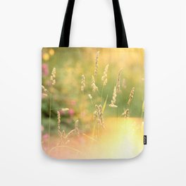 A Field Far Far Away Tote Bag