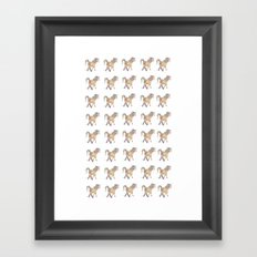 Unicorn pattern Framed Art Print