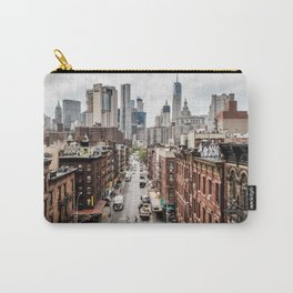 New York City Skyline (Brooklyn, Queens, Manhattan) Carry-All Pouch