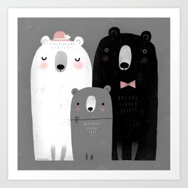 FAMILY AFFAIR Art Print