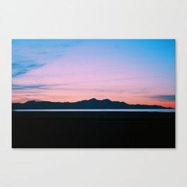 Mountain Salt Canvas Print