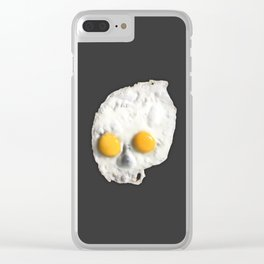 Egg Skull Clear iPhone Case