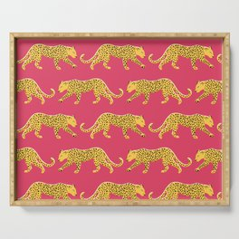 The New Animal Print - Berry Serving Tray