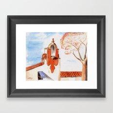 The Firestone Building Framed Art Print